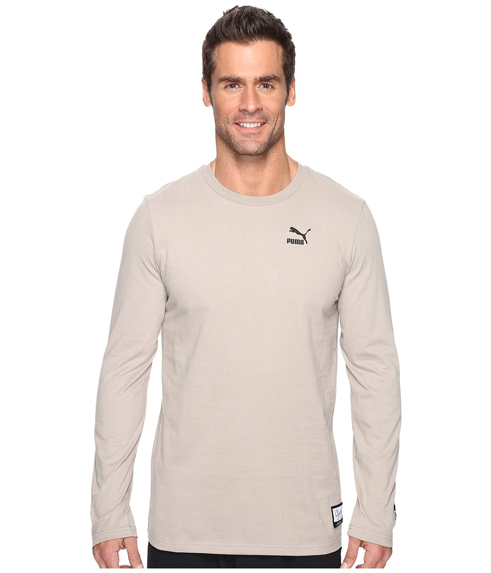 PUMA Clyde Rolls Winter Long Sleeve Tee (Vintage Khaki) Men