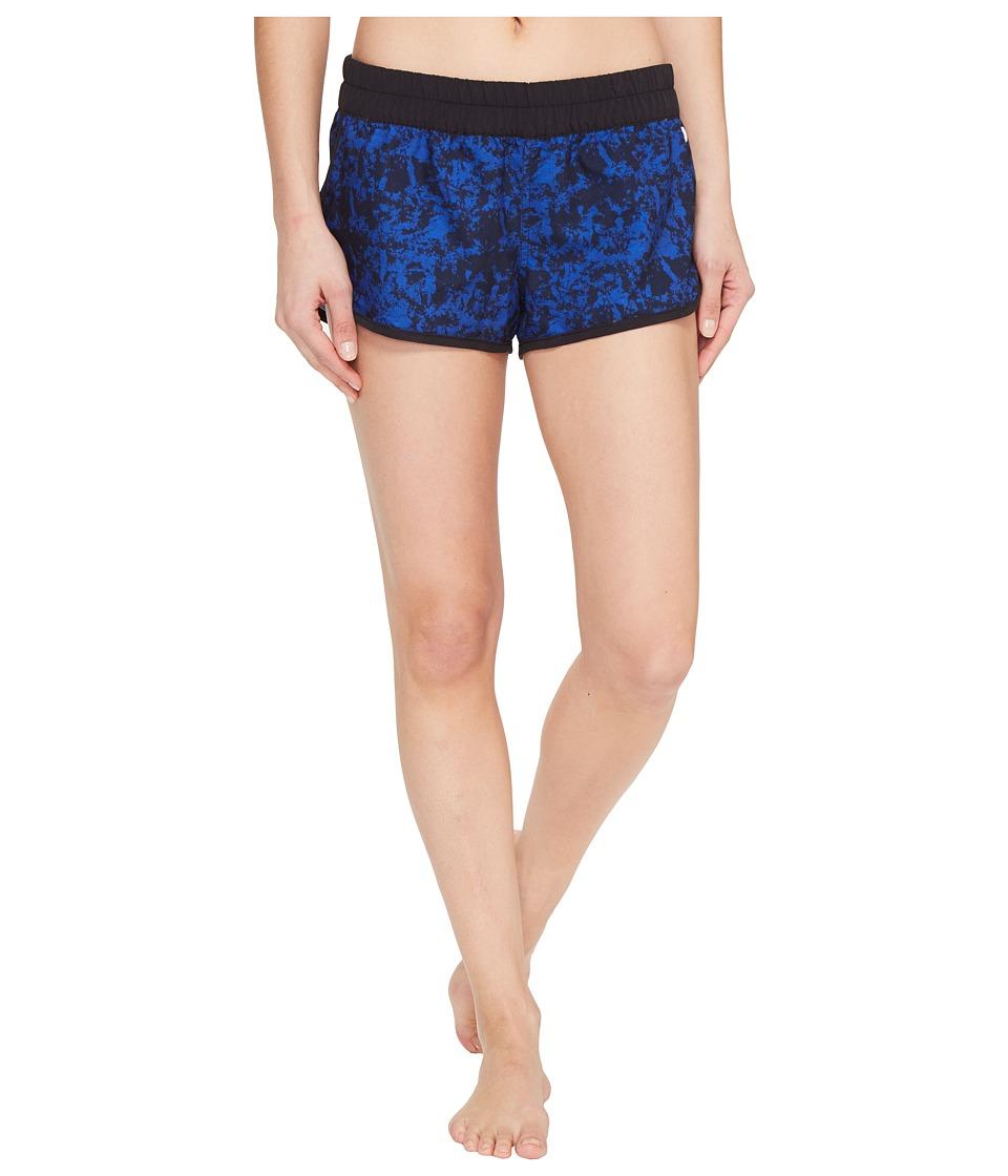 Hurley - Supersuede Blotch Beachrider Bottoms (Racer Blue) Women's Swimwear