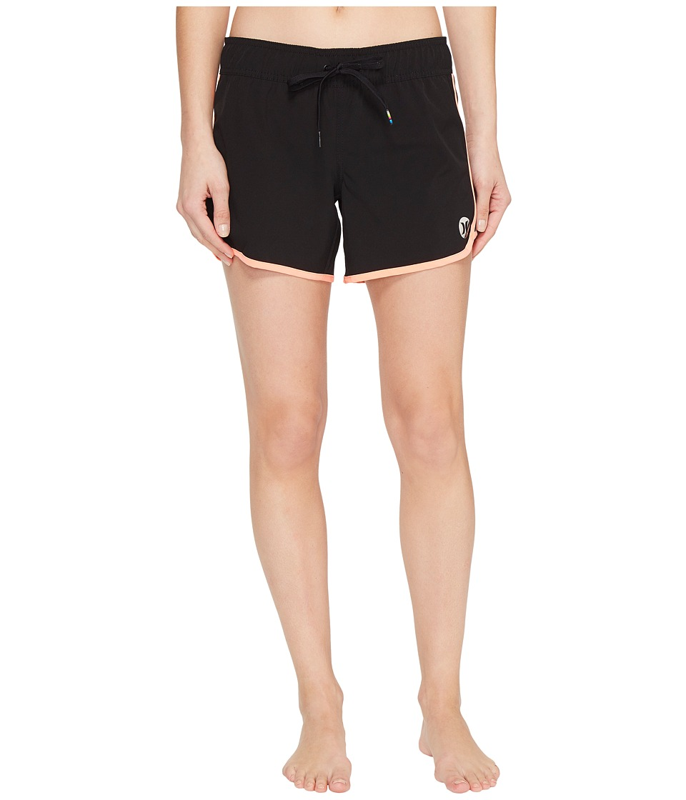Hurley - Phantom Solid 5 Boardshorts (Atomic Pink) Women's Swimwear