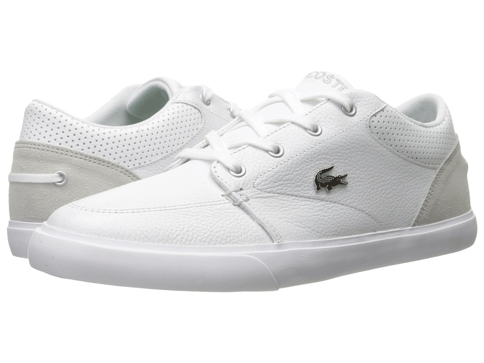 Lacoste - Bayliss 316 1 (White/White) Men's Shoes