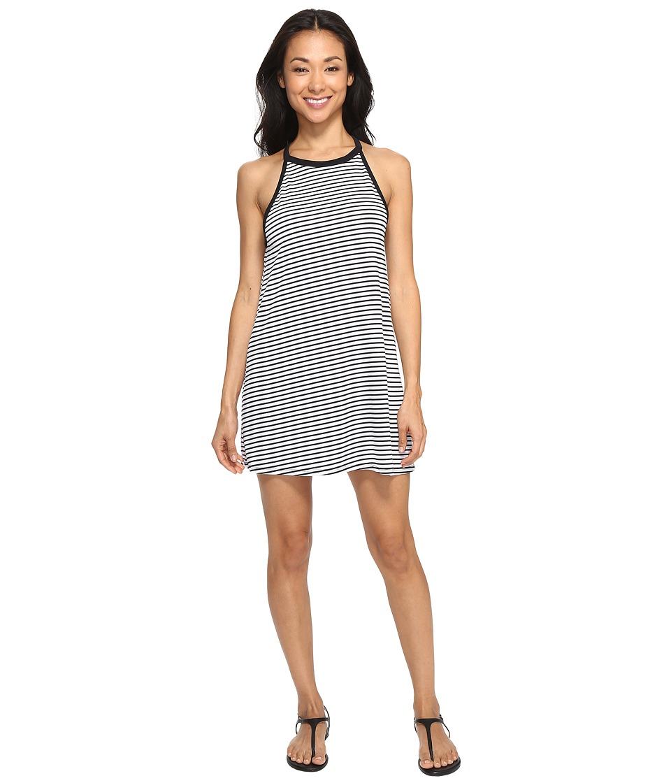 Hurley Dri-Fit Classic Dress (White Stripe) Women