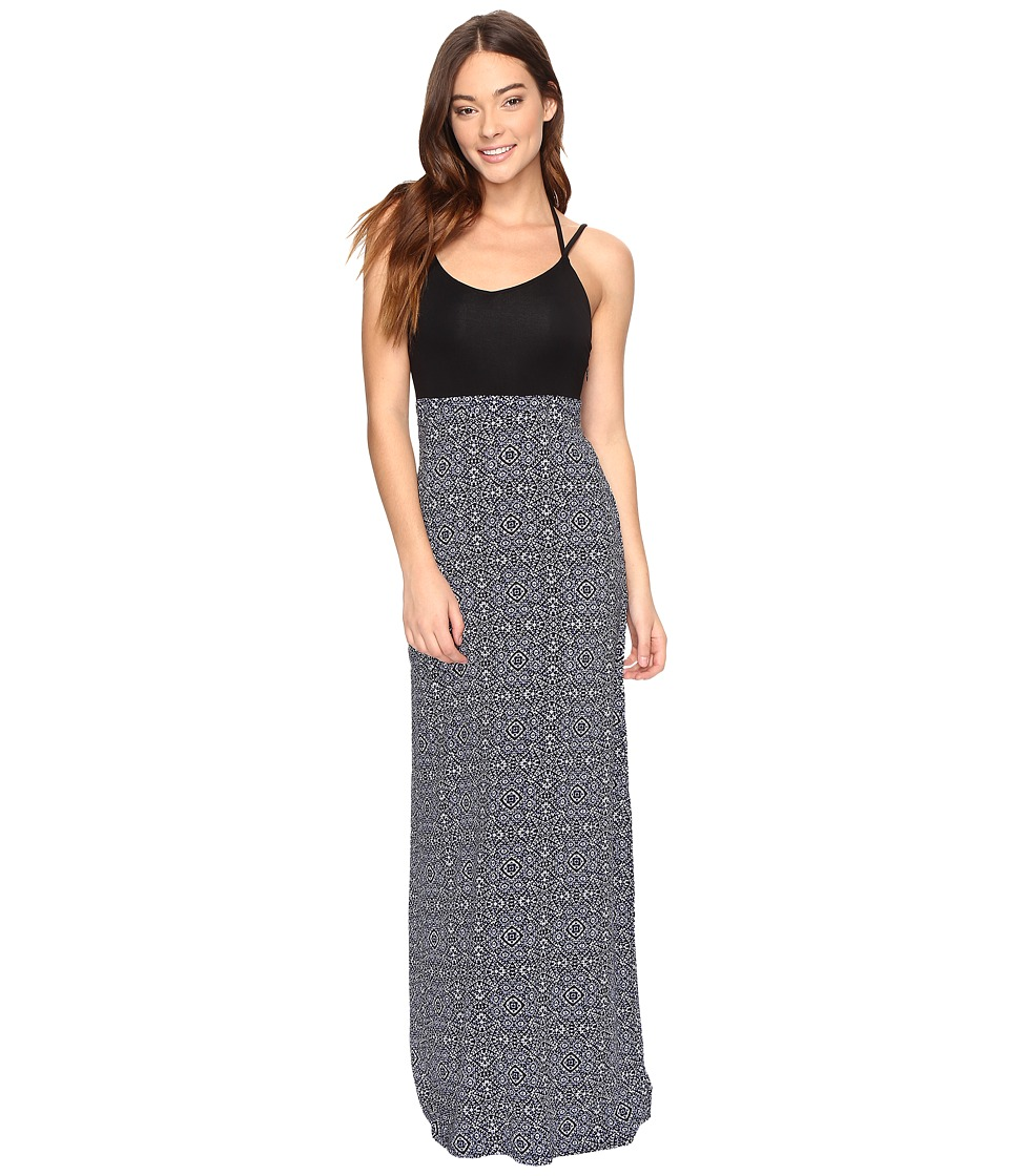 Hurley - Ruby Maxi Dress (Dark Purple) Women's Dress