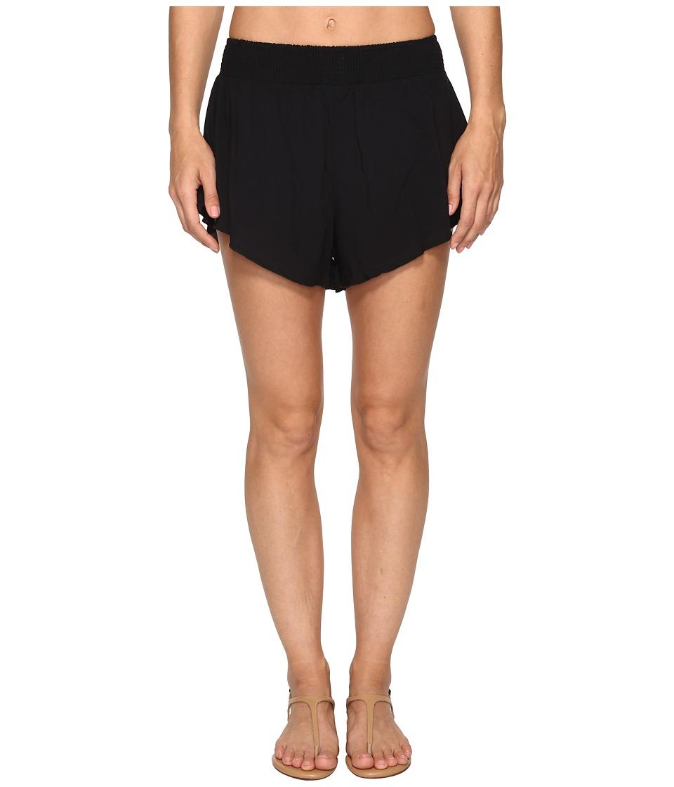 Hurley - Wash Walkshorts (Black) Women's Shorts