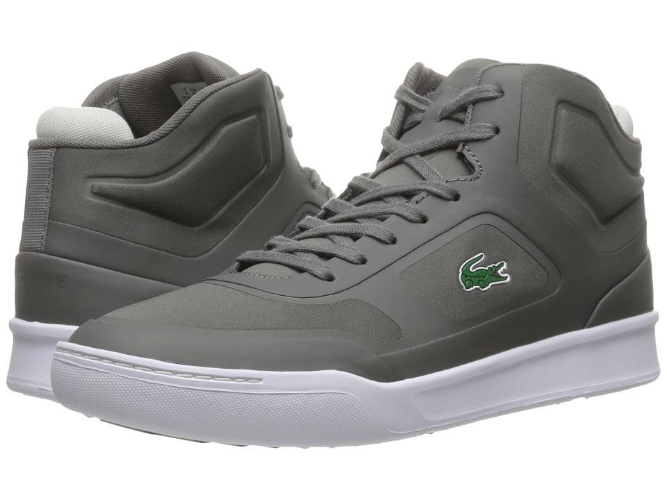 Lacoste - Explorateur Mid SPT 316 1 (Dark Grey) Men's Shoes