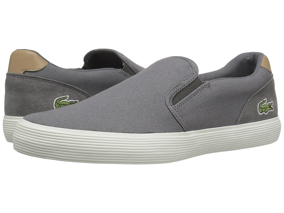 Lacoste - Jouer Slip-On 316 1 (Grey) Men's Shoes