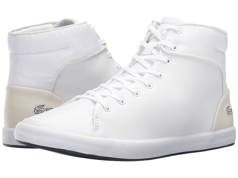 Lacoste - Lancelle Hi Top 316 1 (White) Men's Shoes