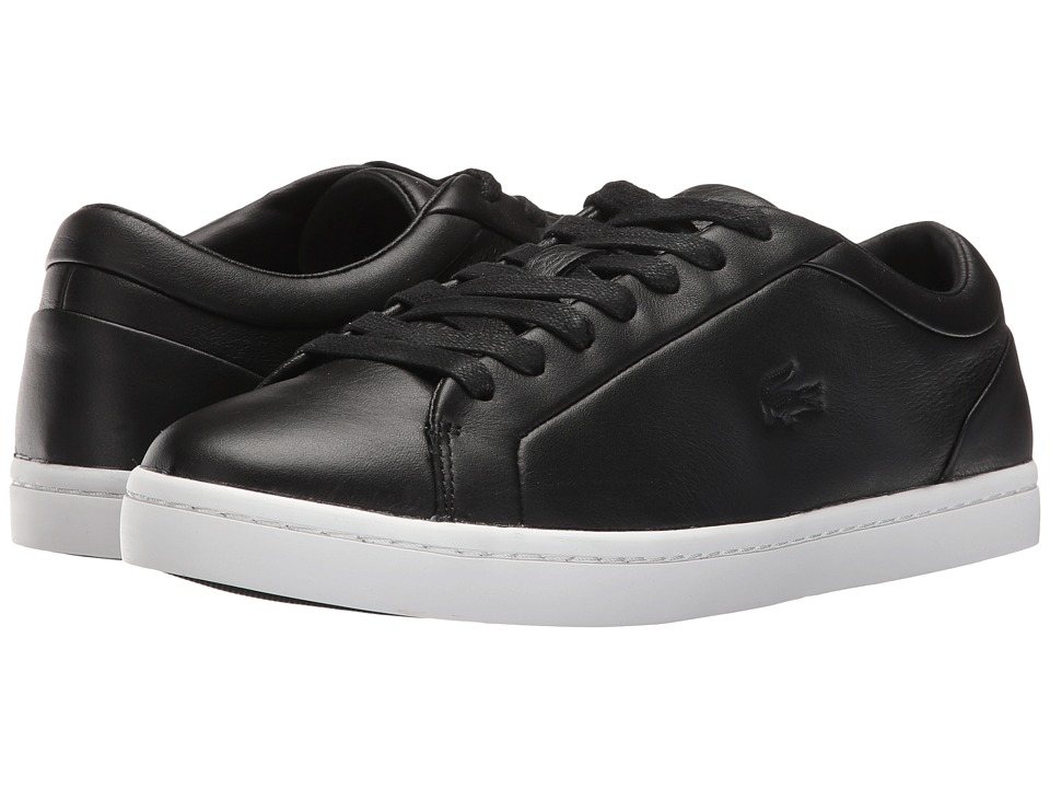 Lacoste - Straightset 316 1 (Black) Women's Shoes