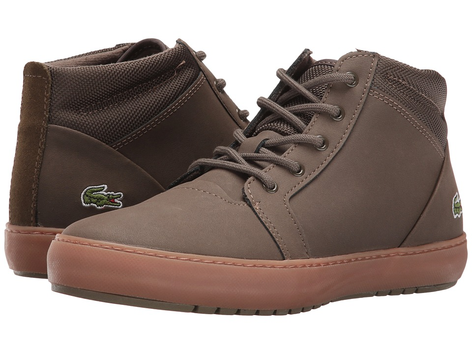 Lacoste - Ampthill Chukka 316 2 (Dark Green) Women's Shoes