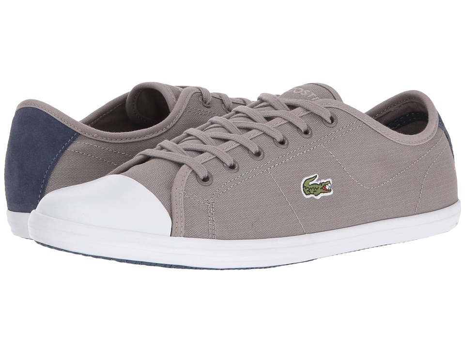 Lacoste - Ziane Sneaker 316 1 (Grey) Women's Shoes