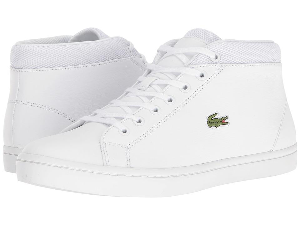 Lacoste - Straightset Chukka 316 3 (White) Men's Shoes