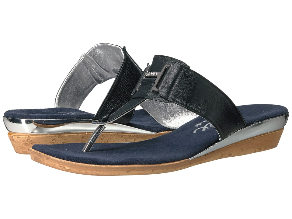 Onex - Harriet (Navy Leather) Women's Sandals