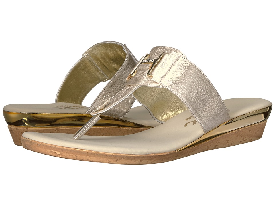 Onex - Harriet (Platinum Leather) Women's Sandals