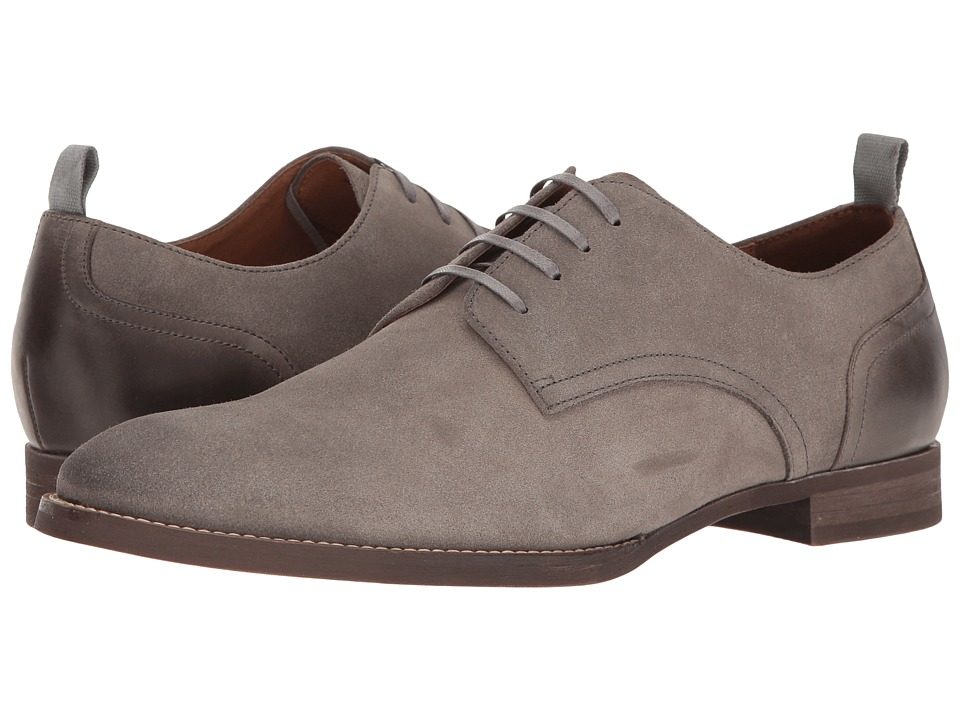 RUSH by Gordon Rush - Lindon (Light Grey Suede) Men's Lace up casual Shoes