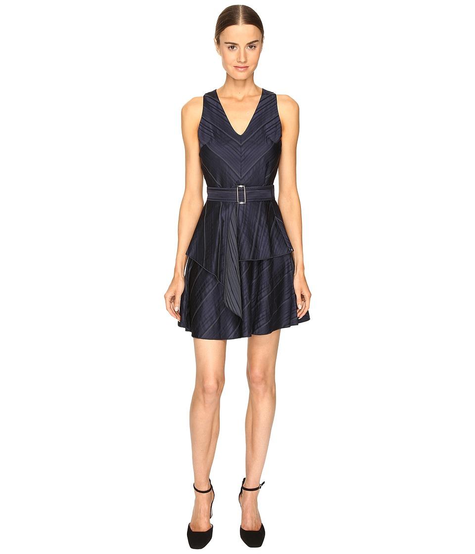 Sportmax - Basilio Sleeveless Dress (Blue) Women's Dress
