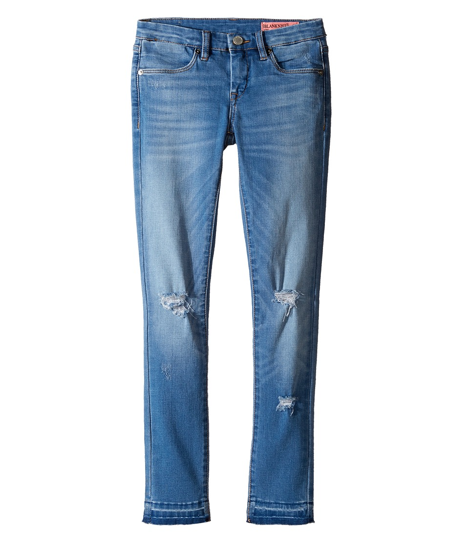 Blank NYC Kids - Denim Distressed Crop Skinny in One Life (Big Kids) (One Life) Girl's Jeans