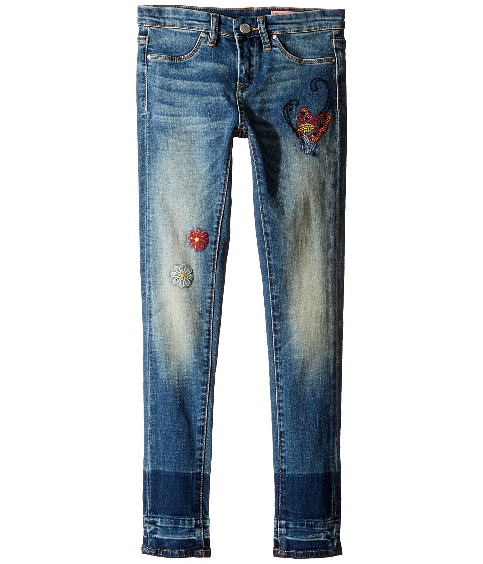 Blank NYC Kids - Denim Embroidered Skinny in Dizzy Spell (Big Kids) (Dizzy Spell) Girl's Jeans