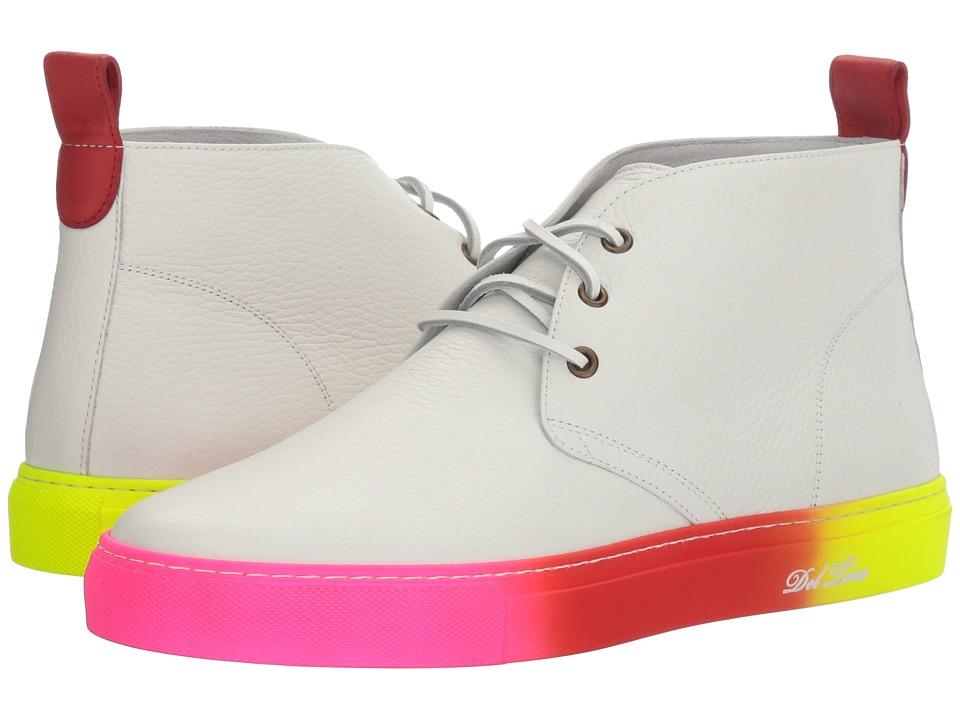 Del Toro - High Top Chukka Sneaker (White) Men's Shoes