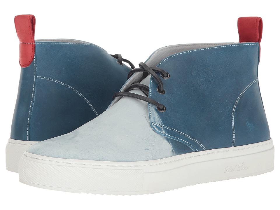 Del Toro - High Top Ombre Chukka Sneaker (Blue) Men's Shoes
