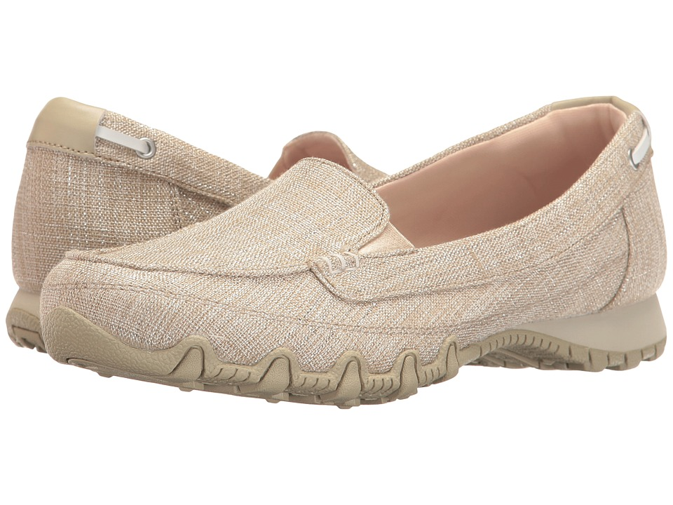 SKECHERS - Bikers - Yacht Spot (Natural) Women's Shoes