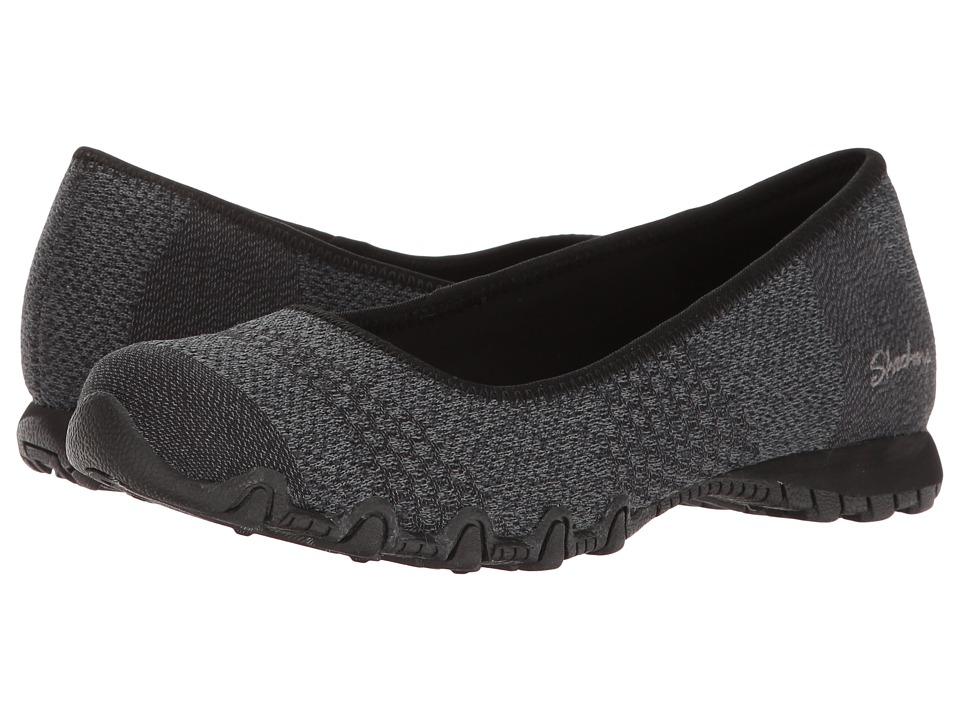SKECHERS - Bikers - Tropicana (Black) Women's Shoes
