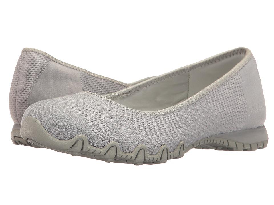 SKECHERS - Bikers - Tropicana (Grey) Women's Shoes