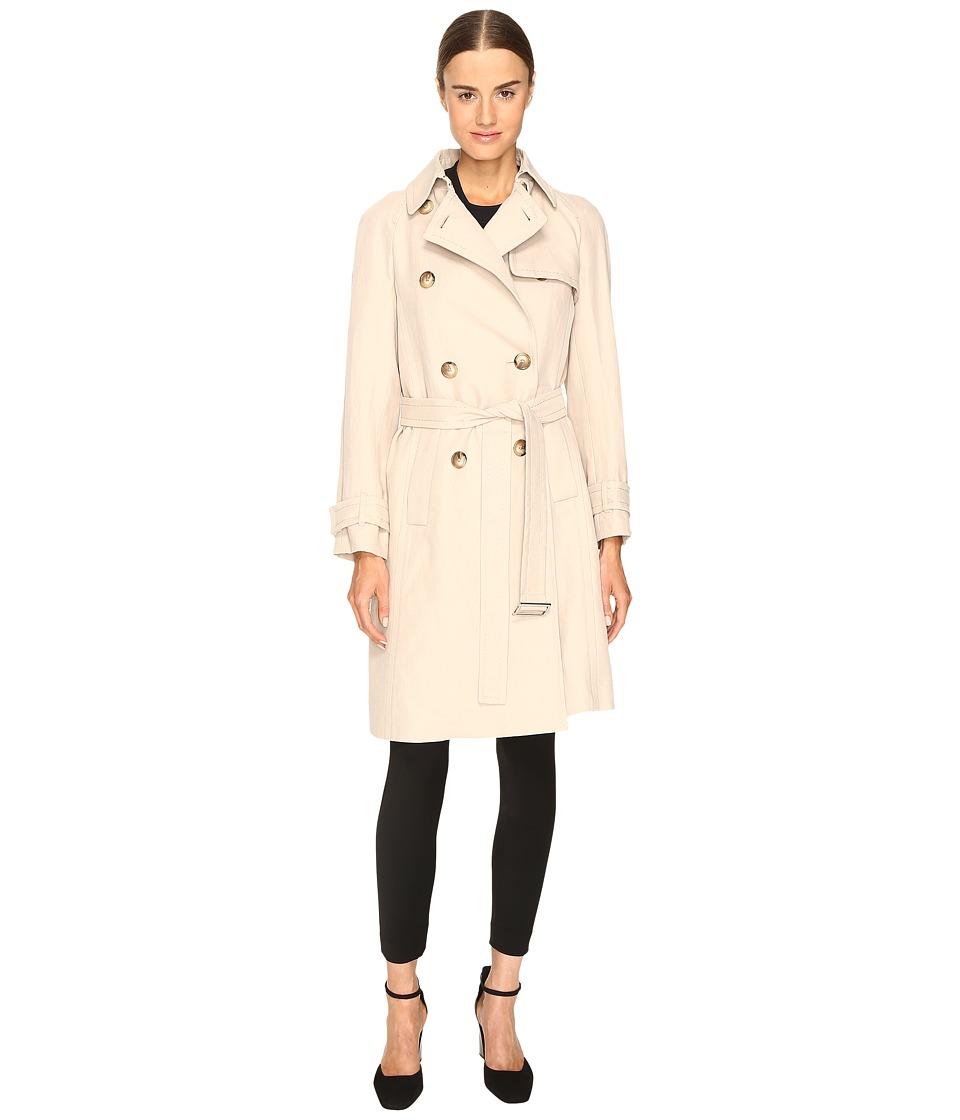 Sportmax - Veber Long Peacoat (Beige) Women's Coat