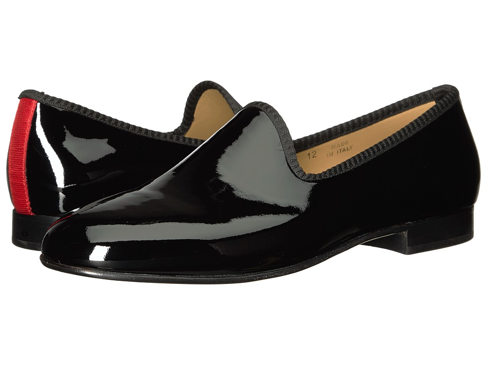 Del Toro - Prince Loafer (Black Patent) Men's Slip on Shoes