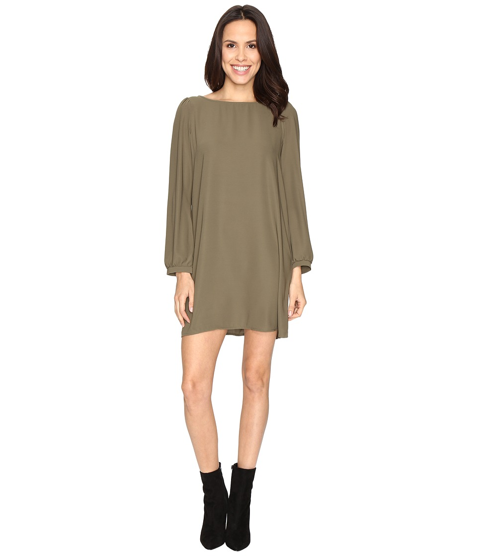 Brigitte Bailey Skyler Shift Dress (New Olive) Women's Dress