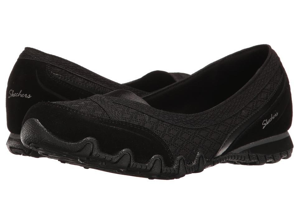 SKECHERS - Bikers - Skim (Black) Women's Shoes