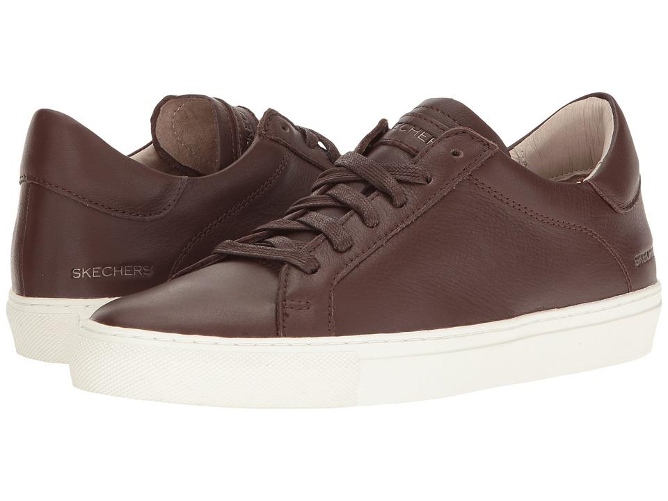 SKECHERS - Vaso - Cordon (Dark Brown) Women's Shoes