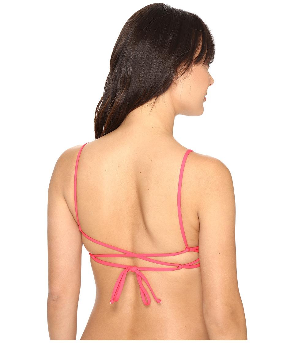 L*Space - Haley Top (Hot Cherry) Women's Swimwear