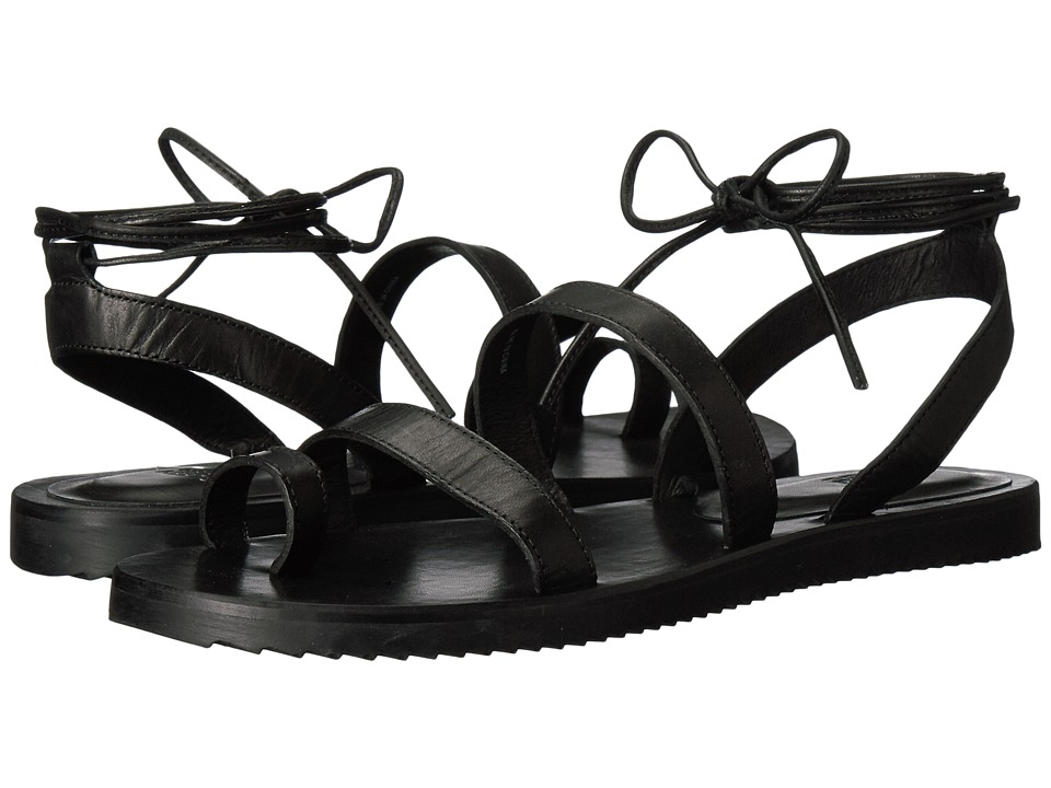 Eileen Fisher - Wales (Black Leather) Women's Sandals
