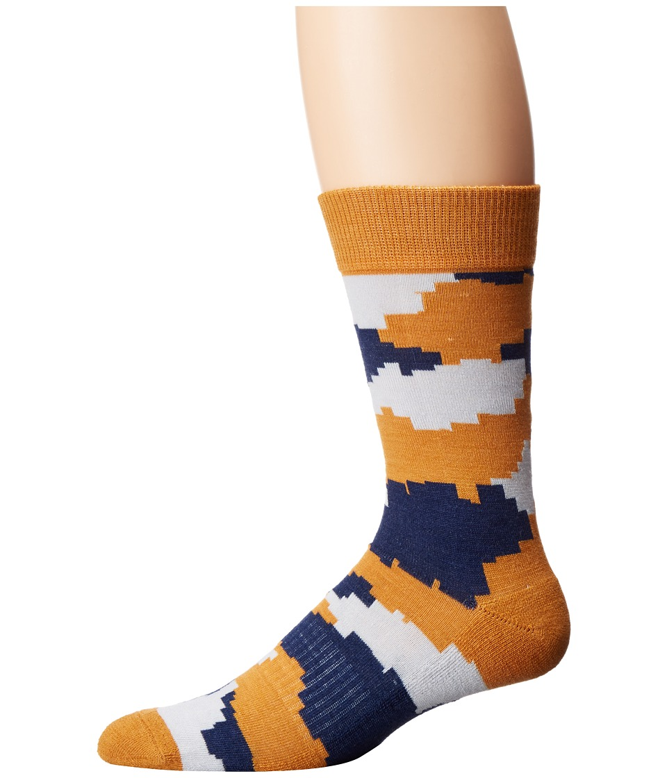 Richer Poorer - Vagabond Hiking Light Sock (Yellow) Men's Crew Cut Socks Shoes
