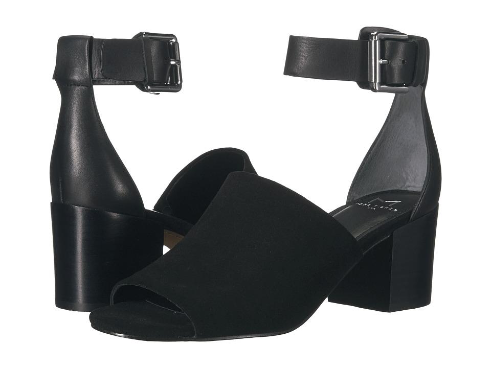 Marc Fisher LTD - Robe 2 (Black/Black Sport Tamarin/New Stetson) High Heels