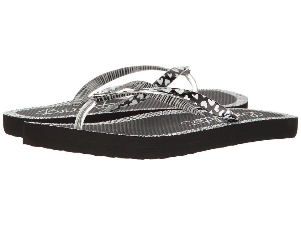 Brighton - Artsy (Black/White) Women's Sandals