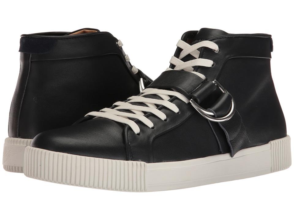 Michael Bastian Gray Label - Lyons Hi Top Sneaker (Navy) Men's Shoes