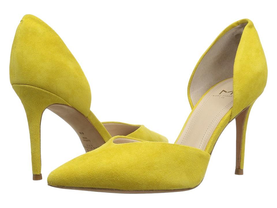 Marc Fisher LTD - Tammy (Yellow Kid Suede) High Heels