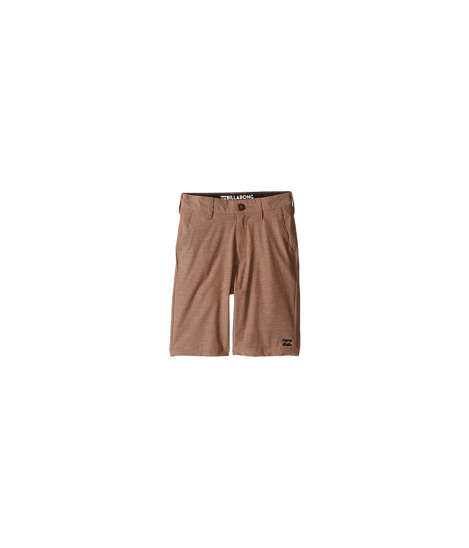 Billabong Kids - Crossfire X Shorts (Big Kids) (Bark) Boy's Shorts