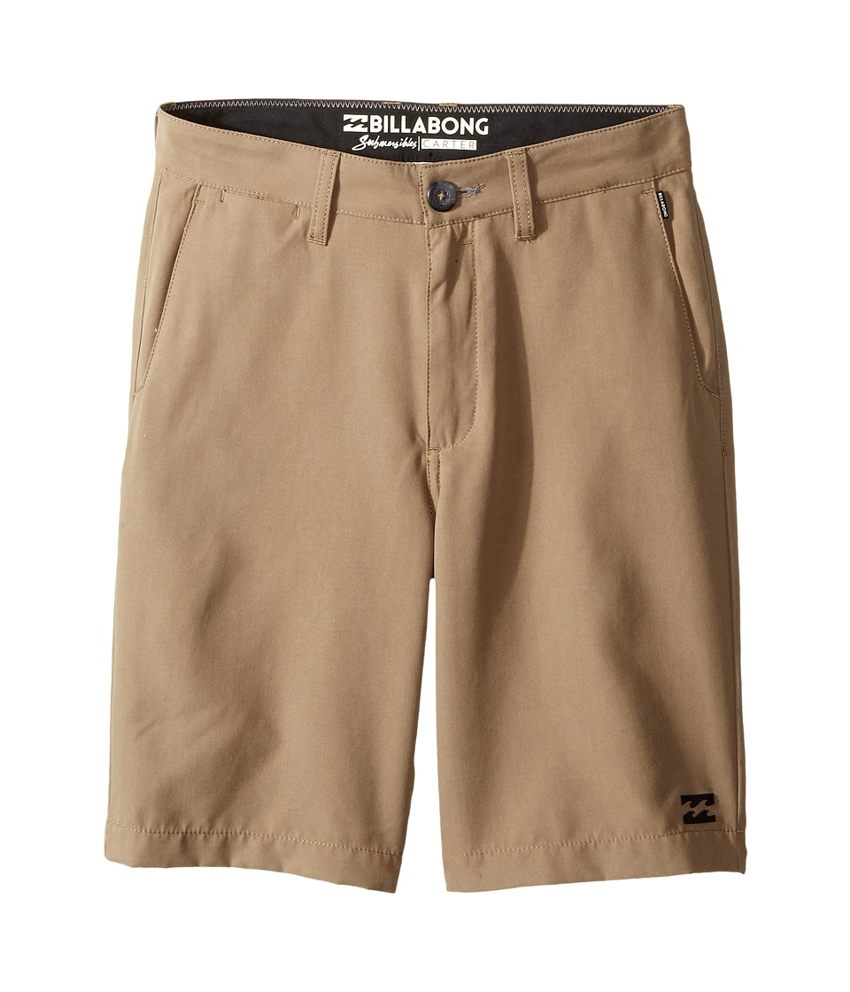 Billabong Kids - Carter Submersible Shorts (Big Kids) (Khaki 2) Boy's Shorts