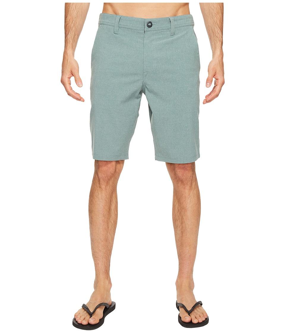 Volcom - Frickin SNT Static Hybrid (Sea Green) Men's Clothing