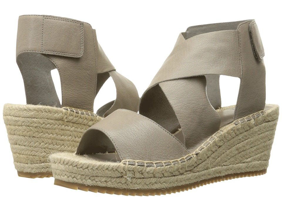 Eileen Fisher Willow (Oyster Tumbled Leather) Women