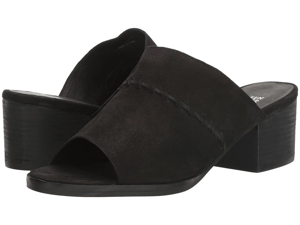 Eileen Fisher - Kale (Black Tumbled Leather) High Heels