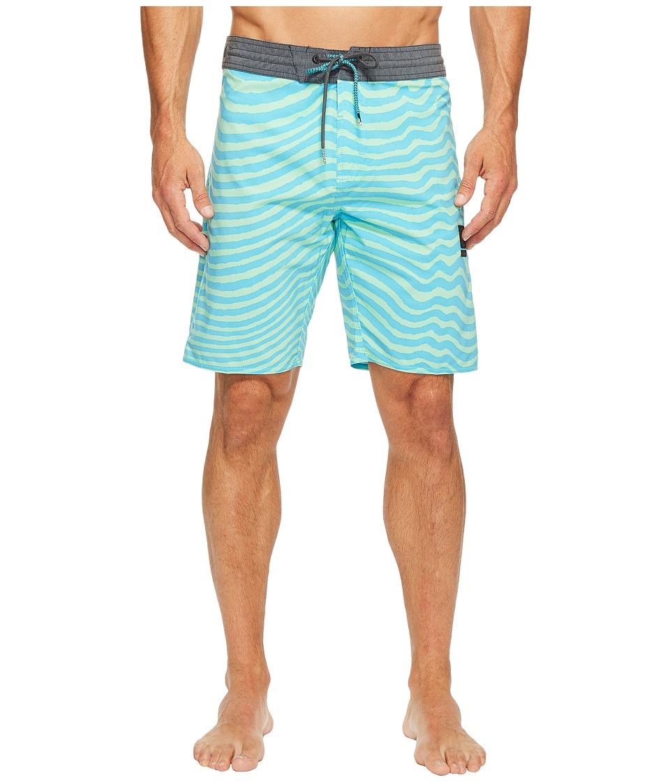 Volcom - Mag Vibes Slinger 19 Boardshorts (Aqua) Men's Swimwear