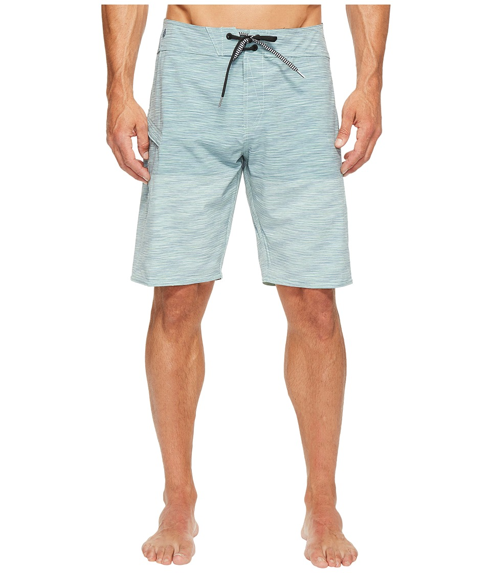 Volcom Lido Heather Mod 20 Boardshorts (Poison Green) Men