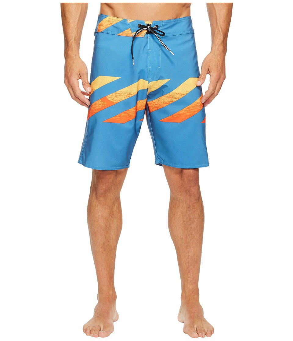 Volcom - Macaw Mod 20 Boardshorts (Bright Orange) Men's Swimwear
