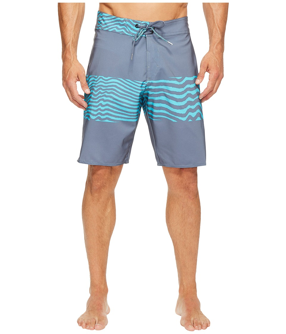 Volcom - Macaw Mod 20 Boardshorts (Dusk Grey) Men's Swimwear