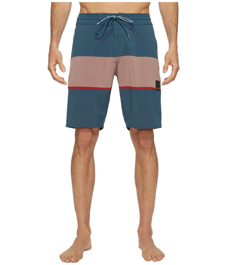 Volcom - Quarta Static Stoney 20 Boardshorts (Toffee) Men's Swimwear
