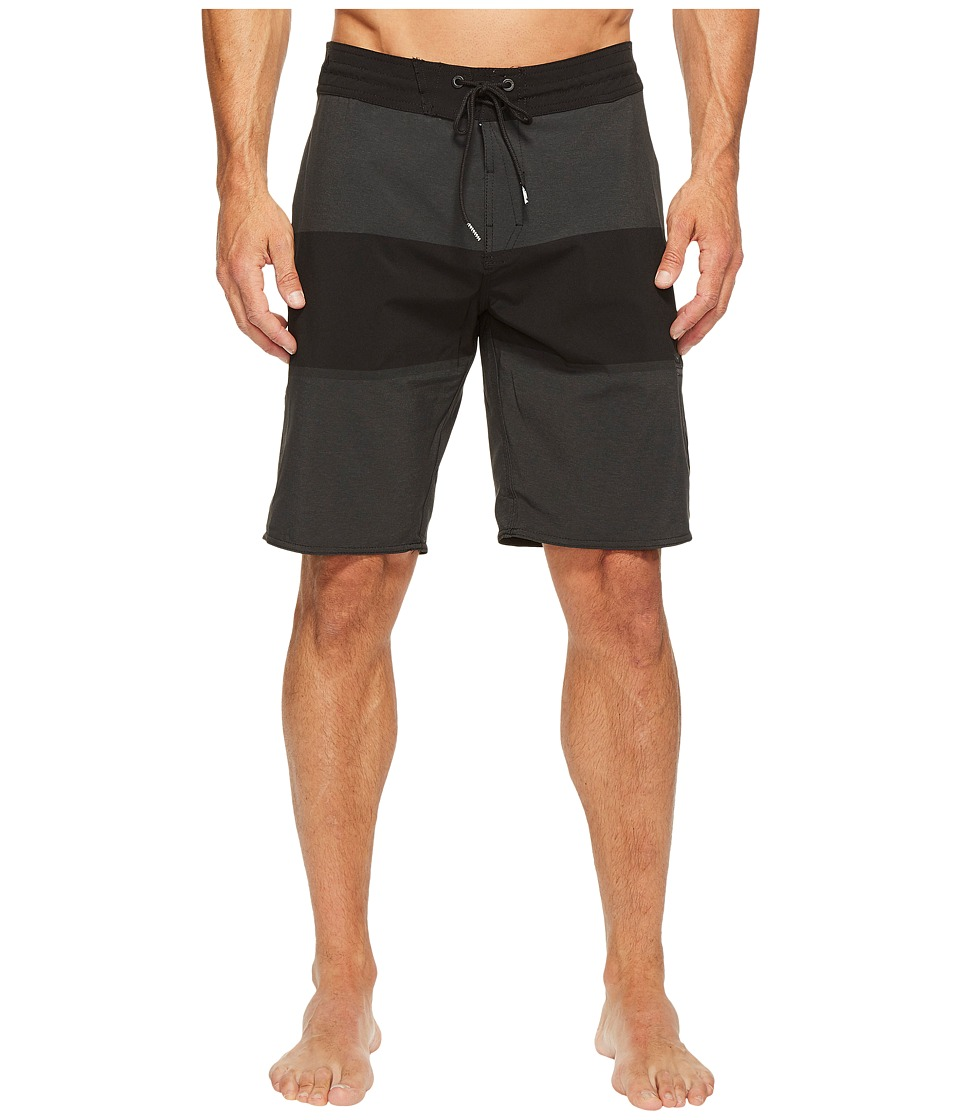 Volcom - Quarta Static Stoney 20 Boardshorts (Black) Men's Swimwear