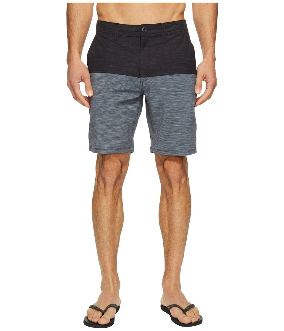 Volcom - Frickin Surf 'N Turf Block Hybrid (Black) Men's Shorts