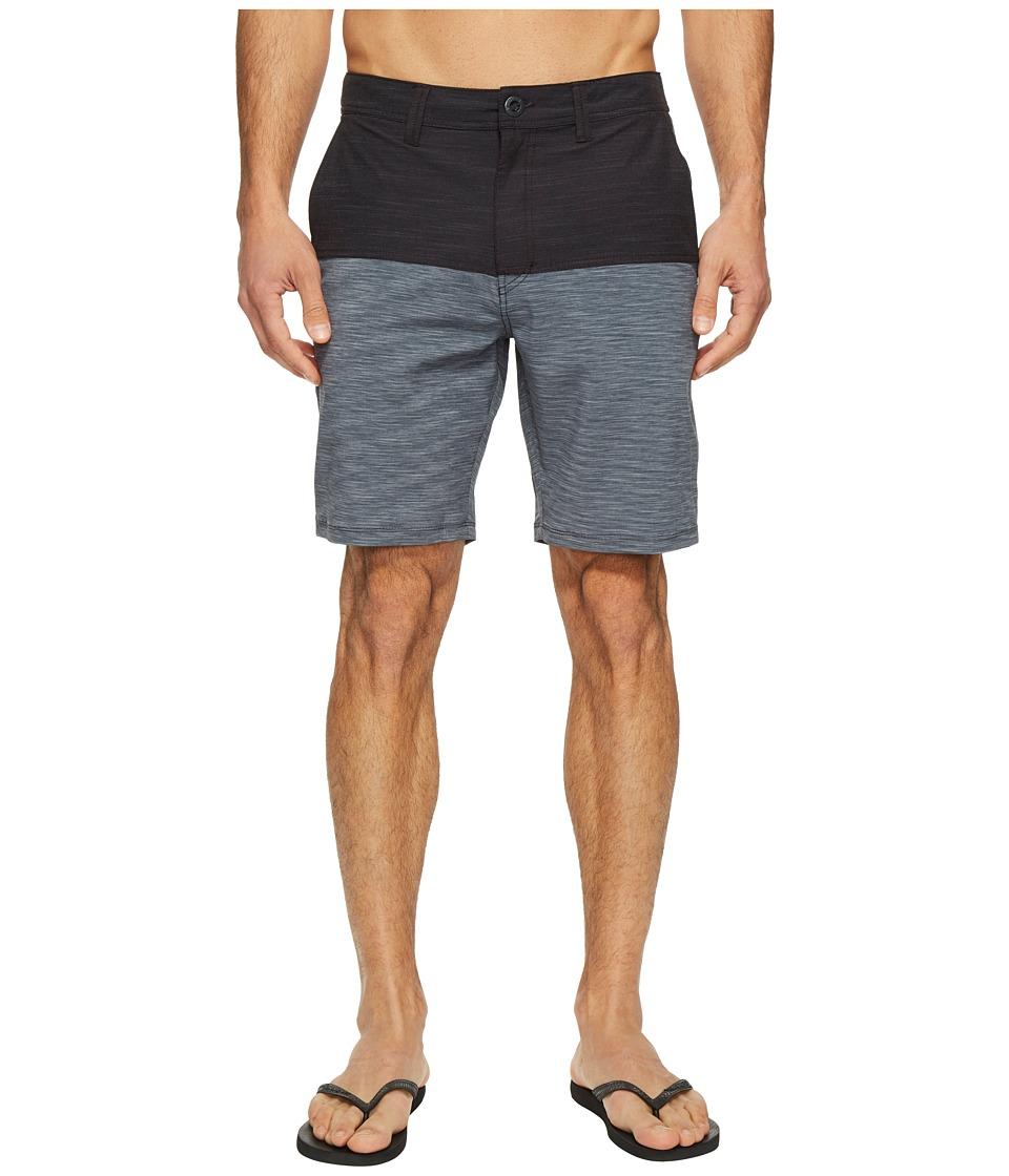 Volcom - Frickin Surf 'N Turf Block Hybrid (Black) Men's Shorts
